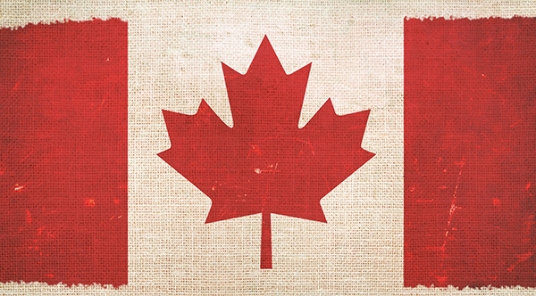 canada-flag-on-canvas