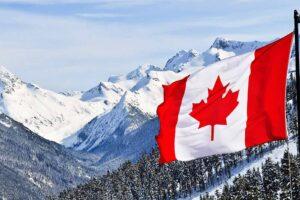 Freedom Defence Canada Mountain flag